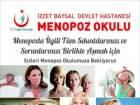 Bolu'da Menopoz Okulu Açıldı
