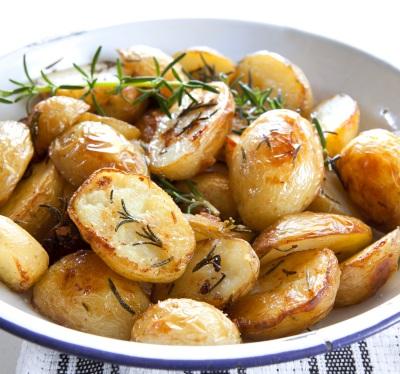 Печеная картошка рецепты фото