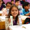 İlkokul öğrencilerine diş macunu ve diş fırçası dağıtıldı
