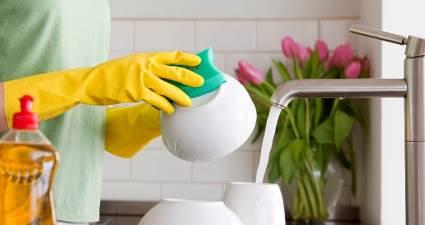 Bulaşık yıkamak ömrü uzatabilir!