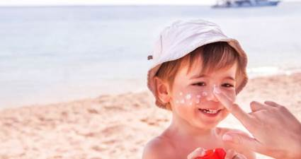 Çocuklarda güneş yanığına dikkat